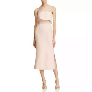 Cameo Blush Pink Popover Dress NWT S
